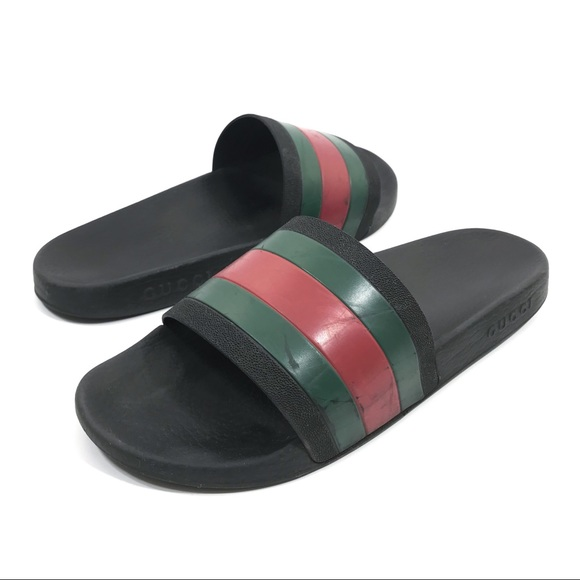 3befcb953 Gucci Other - Gucci Slide Sandal Size US 11.5   11 G Pursuit 72